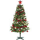 Ready to Dress Holly and Ivy Christmas Tree - 6ft