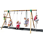 more details on Plum Orang-Utan Wooden Garden Swing Set.