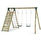 more details on Plum Uakari Wooden Garden Swing Set.