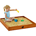 more details on Plum Junior Outdoor Play Wooden Sand Pit.