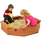 more details on Plum Octagonal Outdoor Play Wooden Sand Pit.