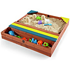 more details on Plum Store-It Outdoor Play Wooden Sand Pit.