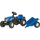 more details on Rolly Toys New Holland T7040 Tractor and Trailer.