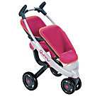 more details on Smoby Maxicosi 3 Wheel Dolls Twin Pushchair.