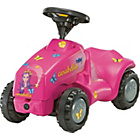 more details on Child's Pink Princess Carabella Mini Tractor.