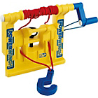 more details on Yellow Winch, Hook and Tow Rope for Child's Tractor.