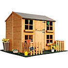 more details on BillyOh Double Storey Cottage Playhouse With Picket Fence.