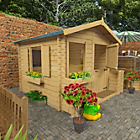 more details on BillyOh Premium Log Cabin Playhouse 6ft x 6ft.