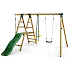 more details on Plum Meerkat Wooden Garden Swing and Climbing Frame.