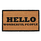more details on Hello Coir Doormat 70 x 40cm.
