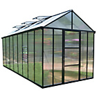 more details on Palram Glory Dark Grey Greenhouse - 8 x 16ft