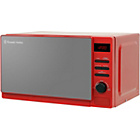 more details on Russell Hobbs Rosso 2079 20L Solo Microwave - Red.