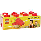 more details on Lego 8 Brick Lunch Box - Red.