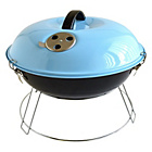 more details on Bar-Be-Quick Portable Picnic Charcoal Barbecue - Blue.