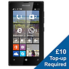 more details on EE Lumia 435 Mobile Phone - Black.