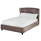 more details on Heart of House Ariano Winged Kingsize Bed Frame - Champagne.