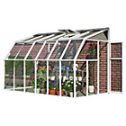 more details on Palram Rion White Sun Room - 6 x 12ft