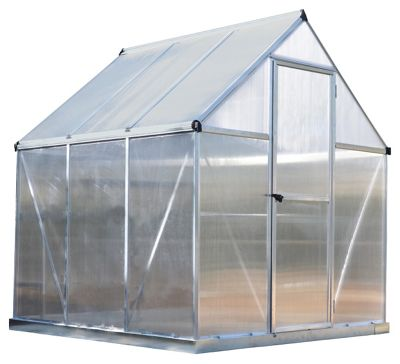 buy green steel greenhouse 6 x 4ft at your. Black Bedroom Furniture Sets. Home Design Ideas