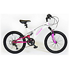 more details on Muddyfox Eclipse 20 Inch Dual Suspension Bike - Girls'.