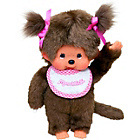 more details on Bandai Monchhichi Classic Girl Plush Doll.