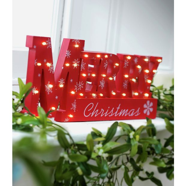 Buy window light merry xmas sign at your for Christmas window decorations clearance