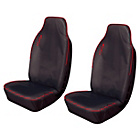 more details on Cosmos Heavy Duty Sport Front Car Seats x 2 - Red.