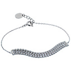 more details on Silver Cubic Zirconia Rhodium Plated Bracelet.