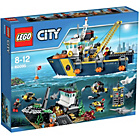 more details on LEGO City Deep Sea Exploration Vessel Playset - 60095.