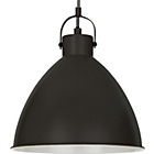 more details on Metal Pendant Ceiling Light - Black.