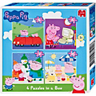 more details on Peppa Pig Jigsaw Puzzles - 4-in-a-Box.