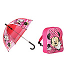 more details on Minnie Mouse Backpack and Umbrella - Red.
