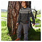 more details on Cherokee Boys' Grey Twill Trouser - 5-6 Years.