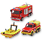 more details on Fireman Sam Diecast 3 Pack Vehicles.