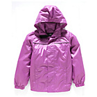 more details on Trespass Girls' Purple Shell Jacket.