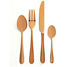 more details on Viners Rose Gold Titanium 16 Piece Boxed Cutlery Set.