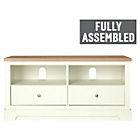 more details on Heart of House Westbury 2 Drawer TV Unit - White.