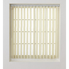 more details on HOME Vertical Blind Slats Pack - 244x137cm - Cream.