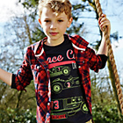 more details on Cherokee Boys' Check Hooded Shirt - 7-8 Years.
