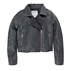 more details on Cherokee Girls' Faux Leather Jacket - 7-8 Years.