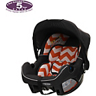 more details on Obaby Group 0 Plus Car Seat - ZigZag Orange.