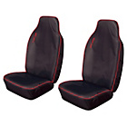 more details on Cosmos Heavy Duty Sport Extra Front Seat Covers x2 - Red.