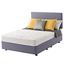more details on Layezee Calm Micro Quilt Small Double Heather Divan Bed.