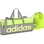 more details on Adidas Linea Medium Holdall and Gymsack - Yellow.