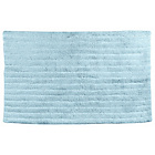 more details on Heart of House Ribbed Bath Mat - Soft Blue.