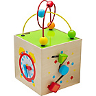 more details on Chad Valley PlaySmart Wooden Mini Activity Cube.