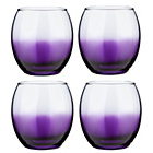 more details on 4 Piece Chunky Tumbler Set - Purple.