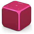more details on Sony SRSX11 Bluetooth Speaker - Pink