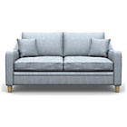 more details on Heart of House Newbury Fabric Sofa Bed - Duckegg.