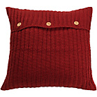 more details on Heart of House Knitted Cushion - Red.