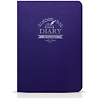 more details on Odoyo Slim Book Folio Case for iPad Air 2 - Purple